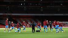 West Ham anuncia tres positivos en pleno partido de la Carabao Cup