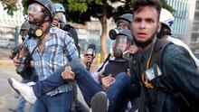 """Nos dispararon a matar"": Periodista recibió disparos de perdigones en las protestas de Venezuela"