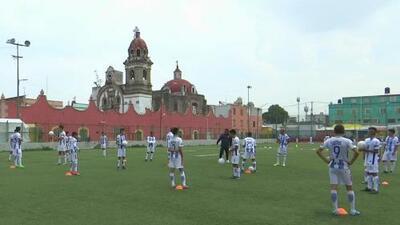 Sacar a menores de la violencia y la droga: así nació el equipo de Tepito, que entrena en el Maracaná de México