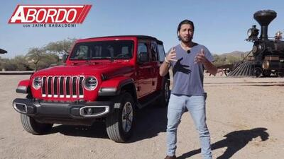 Jeep Wrangler 2018 - Prueba A Bordo Completa
