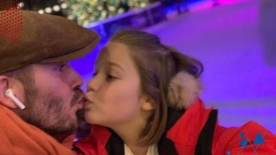 """""""¿A quién le importa?"""": Omar y Argelia defienden a David Beckham ante criticas por darle un piquito a su hija"""