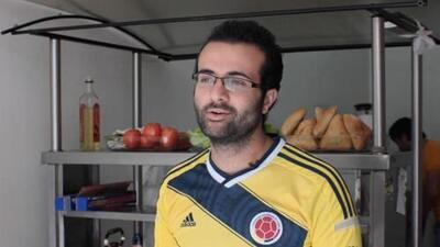 Almotaz Khedrou, el refugiado sirio que llegó a Colombia por el amor y la guerra
