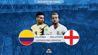 Colombia quiere romper la historia ante Inglaterra y meterse a cuartos de final