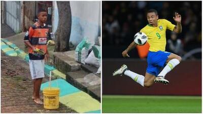 Sueño cumplido: el pintor de andenes en Brasil, Gabriel Jesús, convocado al Mundial de Rusia 2018