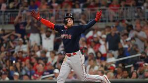 Alex Verdugo se discute con cuadrangular en victoria de Boston