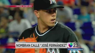 Avenida en Miami llevará el nombre de José Fernández