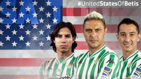 ¡Lainez y Guardado en EEUU! Betis jugará en mayo amistosos ante DC United y Chattanooga FC