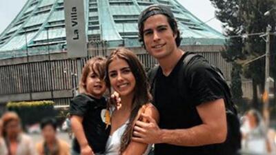 Como toda una familia: Danilo Carrera, Michelle Renaud y su hijo vivieron un inolvidable momento juntos