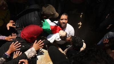Seis niños murieron en la represión de Israel contra palestinos en Gaza, entre ellos una bebé de ocho meses