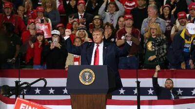 """Con menos dinero del previsto, Trump relanza su propuesta para 2020: """"Terminemos el muro"""""""