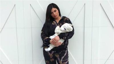 Kylie Jenner muestra (por fin) el rostro sin filtros de la pequeña Stormi