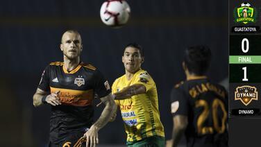 Con un gol de otro partido, Houston Dynamo se lleva una victoria de oro de Guatemala