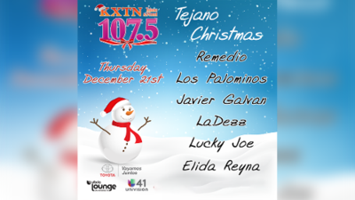 KXTN Christmas Special is live on Facebook