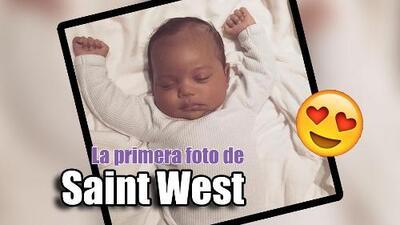 GYF digital: El mundo conoce a Saint West y... el ego de Kim Kardashian