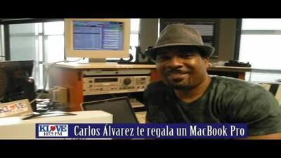 Carlos Álvarez te regala un MacBook Pro