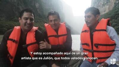 El presidente Peña Nieto subió a su Facebook un video con Julión Álvarez horas antes de que el cantante fuera vinculado al narco