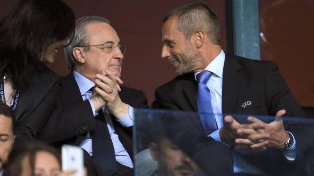 ¿Guerra? UEFA amenaza al Real Madrid con la Champions