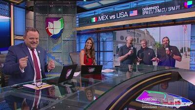 ¿Quién será? José Luis López aseguró que si el Team USA gana se disfrazará de una estrella del pop