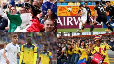 En fotos: jornada sin suerte para México, Ecuador y Colombia en el Mundial Sub-20