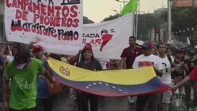 En Un Minuto: protestas en Venezuela dejan heridos