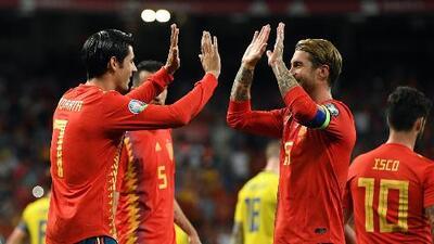 España 3-0 Suecia - RESUMEN Y GOLES - Grupo F - Clasificatorio Eurocopa 2020