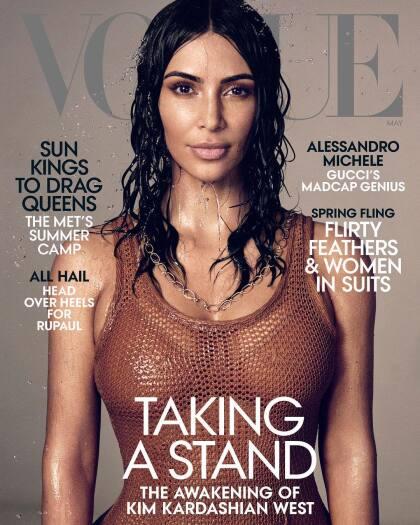 Y es que la estrella del reality show 'Keeping Up With the Kardashians' está estudiando para convertirse en abogada, según declaró ella misma durante una entrevista a la revista Vogue, cuya portada engalana este mes.