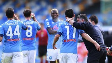 Aunque fue el primer cambio, Gattuso volvió a darle halagos al 'Chucky'