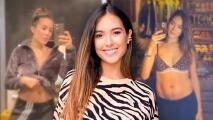 Sharon Fonseca se solidariza con las mujeres que, como ella, tuvieron cambios en su cuerpo tras el parto