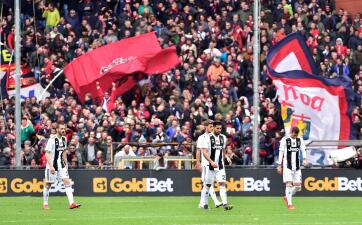 En fotos: la derrota de Juventus contra Genoa que sorprende en la Serie A