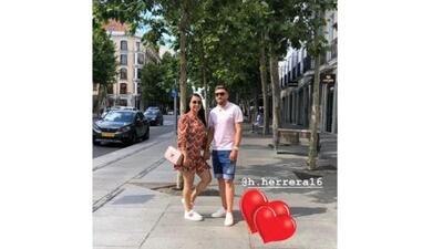 Héctor Herrera está en Madrid... ¿de vacaciones?