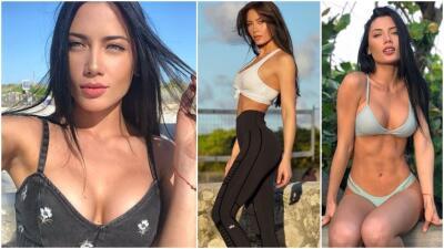 Georgina Mazzeo se roba las miradas en el mundo del modelaje y los gimnasios