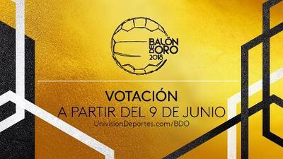 Votación Balón de Oro 2018