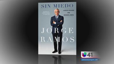 Jorge Ramos presenta hoy su nuevo libro en Nueva York