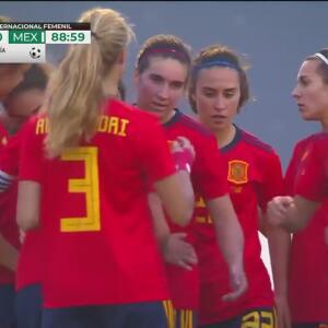 ¡Doblete de Nahikari García! España firma la goleada 3-0 ante México