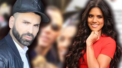 La foto de Francisca y Francesco que Jomari Goyso tuvo que mantener en secreto