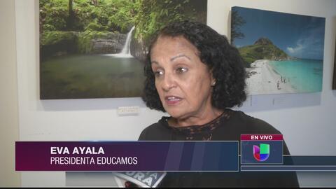 Sigue el debate sobre la galleta que le ofreció Eva Ayala a la secretaria de Educación