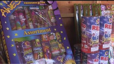 Inicia la venta de fuegos artificiales en Sacramento