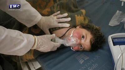 EEUU investiga si Rusia participó en el mortal ataque químico en Siria