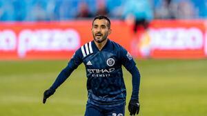 Por una lesión de ligamentos, Maxi Moralez estará fuera de NYCFC entre 4 y 6 semanas