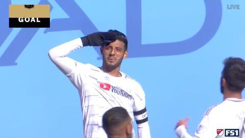 ¡Home Run de Carlos Vela! El 'bombardero' hace un bello gol y LAFC empata 1-1 en el Yankee Stadium