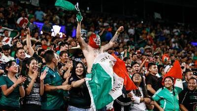 Los hinchas mexicanos ya están listos para el encuentro del Tri contra Martinica
