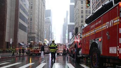 """""""Lo primero que yo pensé fue un ataque terrorista"""": periodista de Univision relata la emergencia por helicóptero que chocó en Manhattan"""