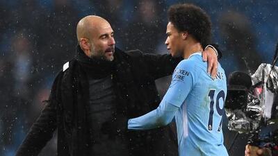 Guardiola quiere más tiempo a Sané en el Manchester City