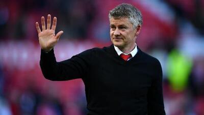 Solskjær calificó de decepcionante la temporada del Manchester United