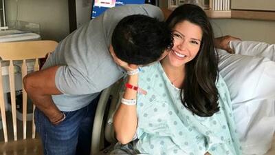 Ya nació Gael: Ana Patricia Gámez dio a luz a su segundo hijo (esta es la primera imagen del varón)