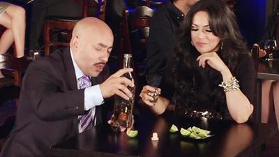 Lupillo Rivera y Helen Ochoa brindaron para olvidar un mal amor