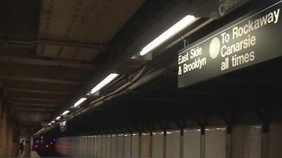 Anticipan que los trabajos de remodelación de la línea L terminarán tres meses antes de lo previsto