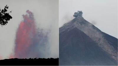 ¿Hay relación entre la actividad del volcán Kilauea en Hawaii y el volcán de Fuego en Guatemala?