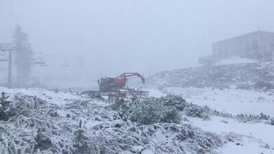 Nevazón en Lago Tahoe sorprende a sus habitantes