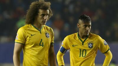 Neymar y David Luiz se pierden el juego ante Paraguay por suspensión